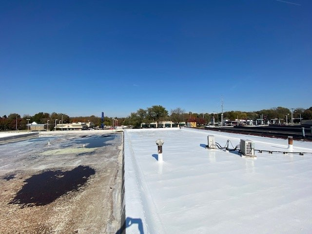Elastomeric roofing 1