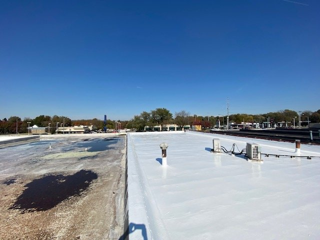 Flat Roof Installation in Colfax, MO (8593)
