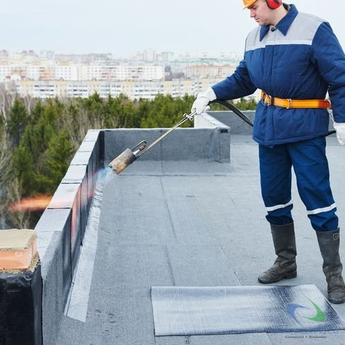 Commercial roof installation 1