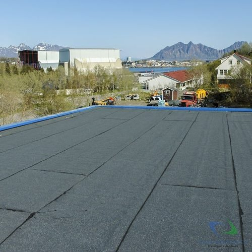 Flat roof installation in presidio, tx (2610)