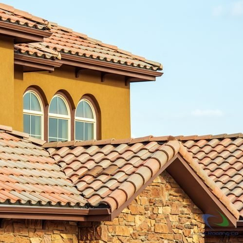 Tile roofing 1