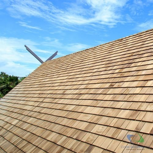 Synthetic shake shingles installation and repair 1