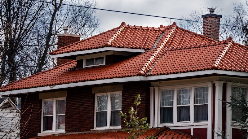 Clay tile roof in Springfield MO