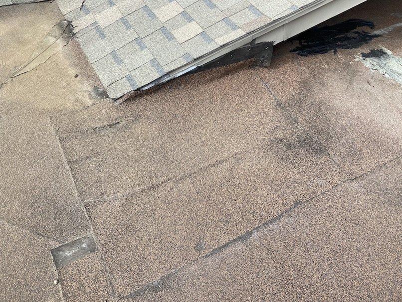 Residential flat roof repair 1