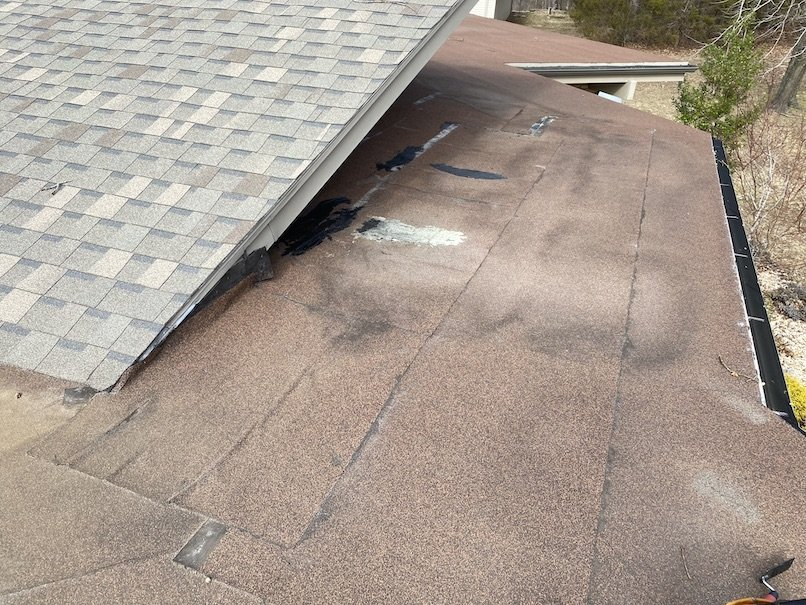 Residential flat roof repair 2