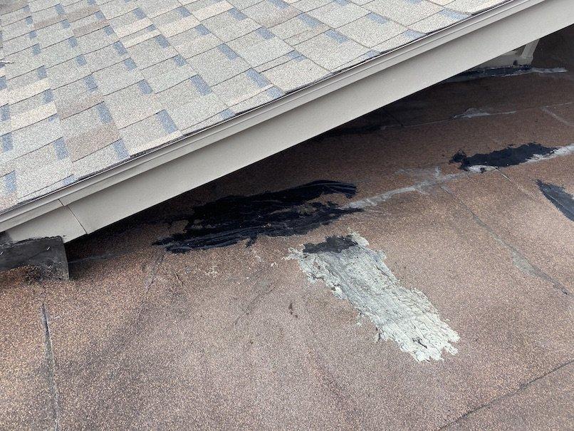 Residential flat roof repair 3