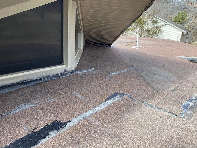 Residential flat roof repair 7