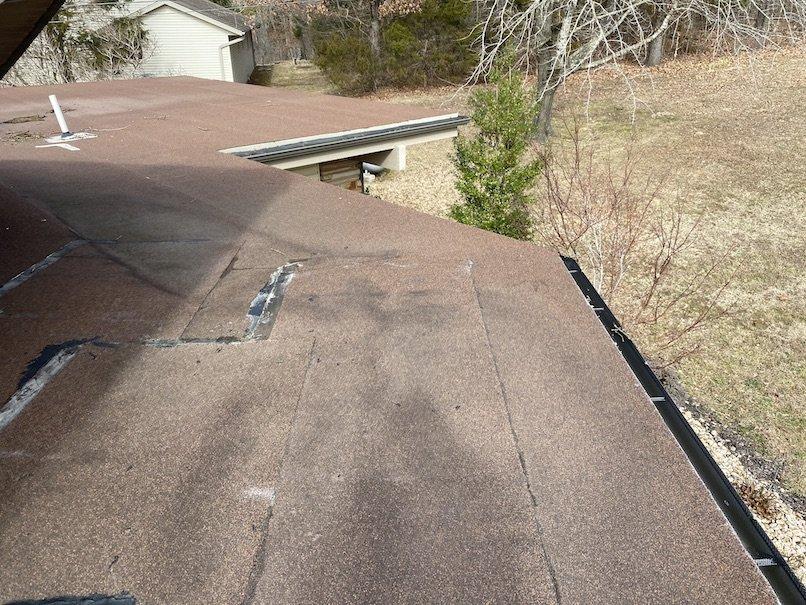 Residential flat roof repair 9