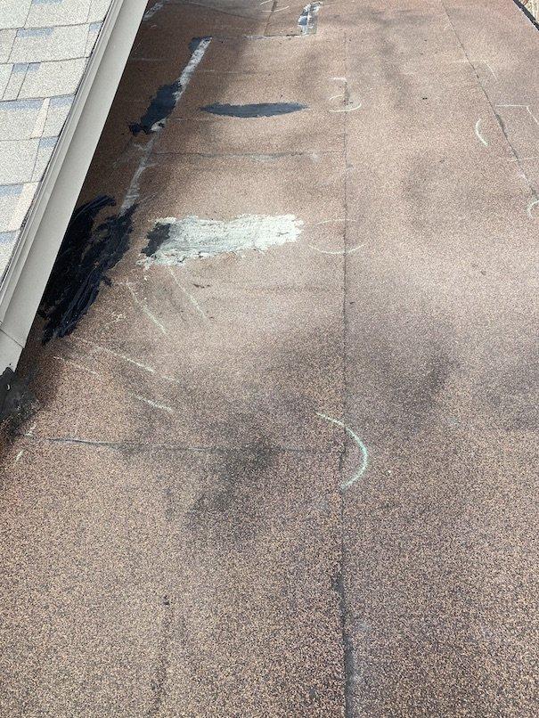 Residential flat roof repair 13