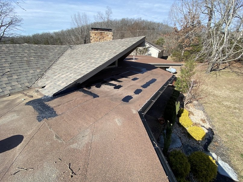 Residential flat roof repair 16