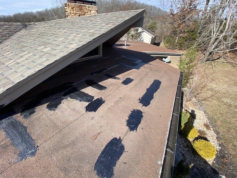 Roof repair in lake tanglewood, tx (1806)